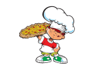 michaels pizza boy logo